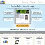 Homepagebaukasten in Schnell und einfach zur eigenen Homepage